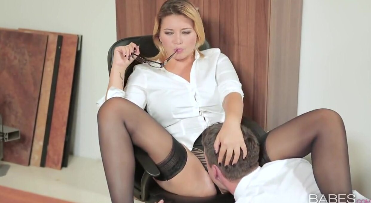 Business Woman Pussy